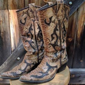 Aldo cowboy boots. Women's size 38